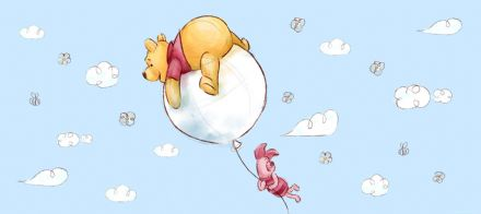 Winnie The Pooh Panoramic wallpaper mural 202x90cm